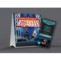 "Bundle: Table Calendar ""ROAAARR"" + vocal coaching voucher"
